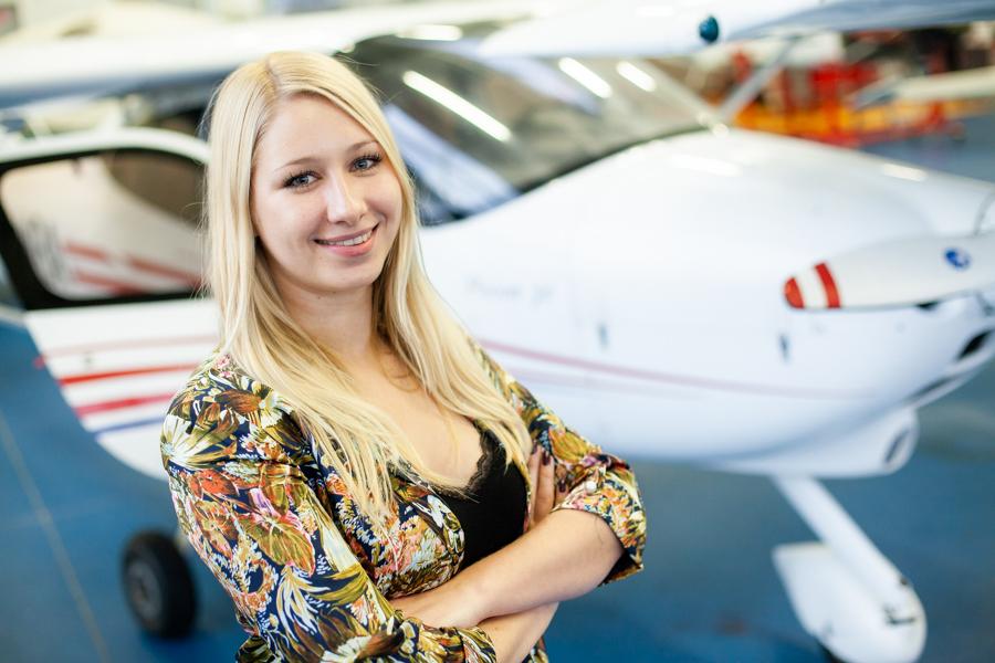 Rozmowa weekendowa zKatarzyną Górską, absolwentką studiów Aviation Management