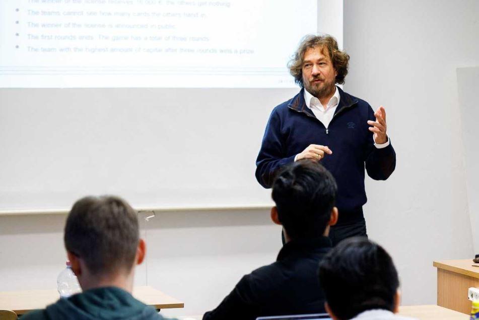 Wizyta Profesora Ivo Bischoffa zUniversity of Kassel