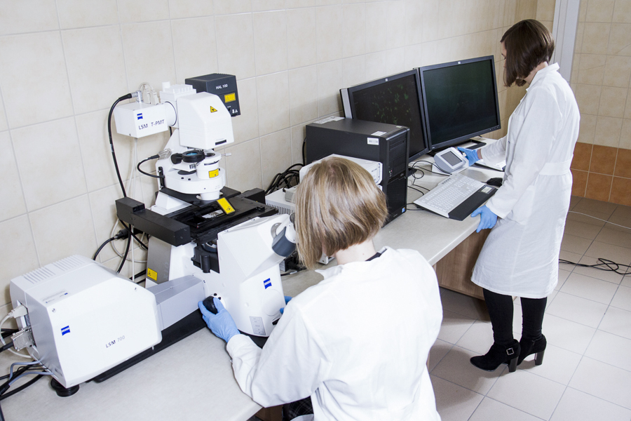 CEM wKielnarowej. Laboratorium Hodowli Komórek iTkanek.