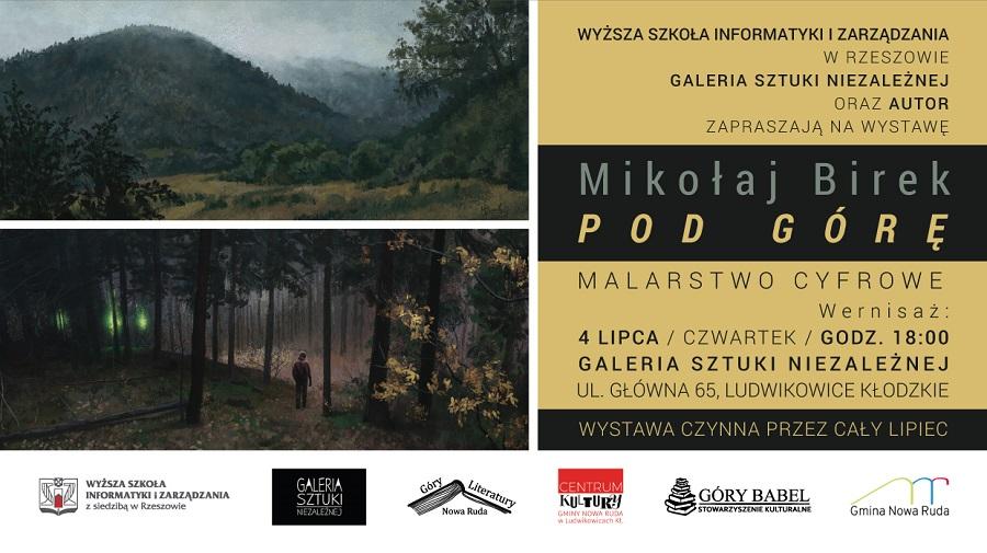 Wystawa pracownika WSIiZ wramach Festiwalu Góry Literatury – jednego znajważniejszych wydarzeń literacko – kulturalnych wPolsce