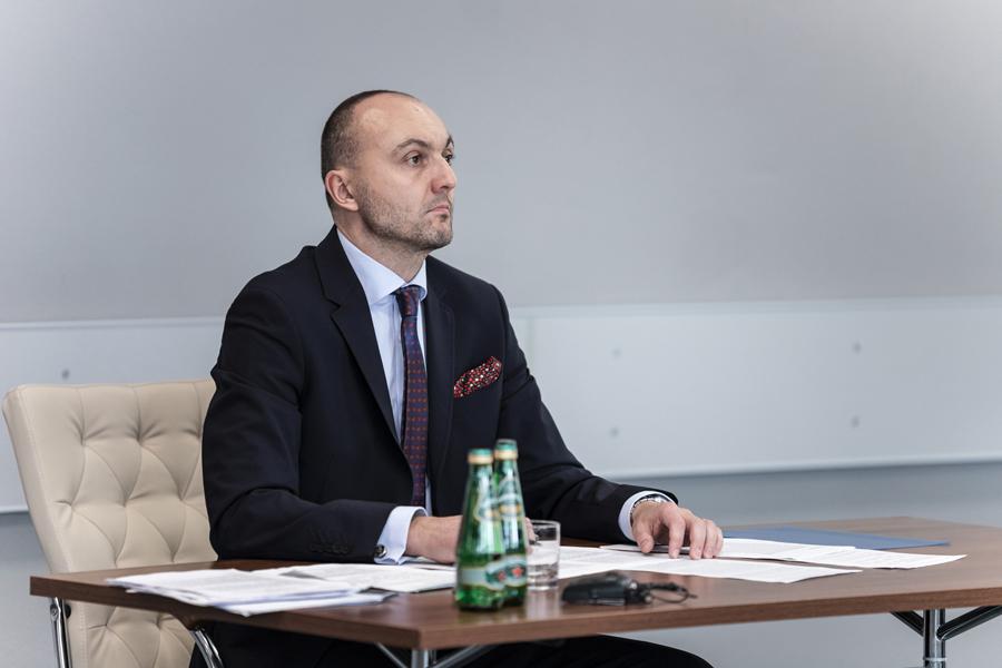 Obrona rozprawy doktorskiej mgrRoland Jakubowski