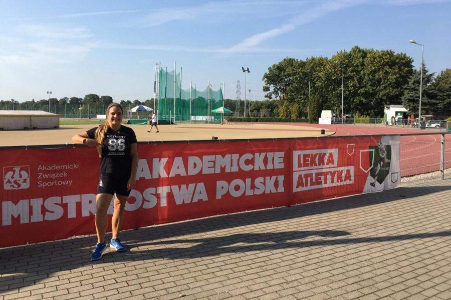 mistrzostwa, medal, brąz, Karolina Kusak