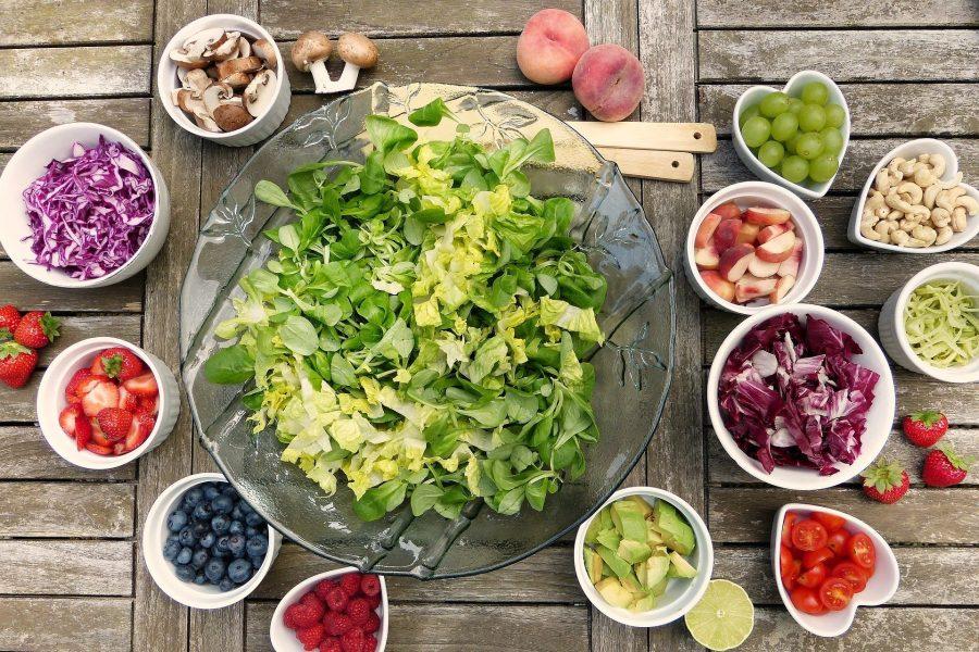 odporność, owoce, warzywa