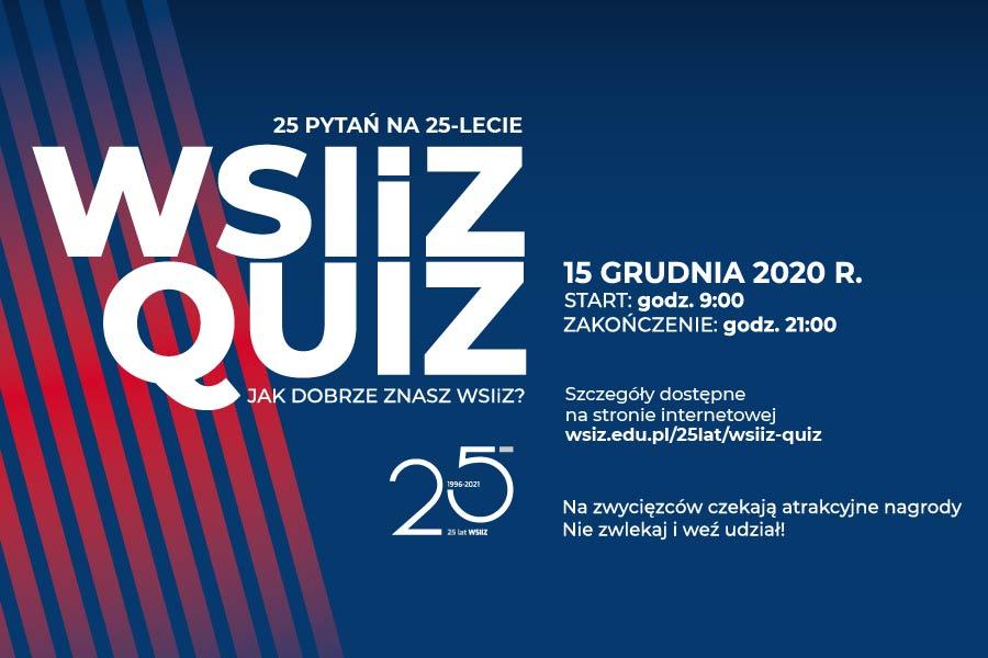 WSIiZ Quiz - Jak dobrze znasz WSIiZ?
