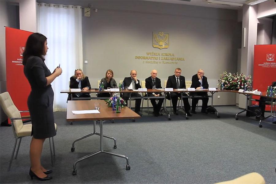 Obrona rozprawy doktorskiej mgrZofia Sawicka