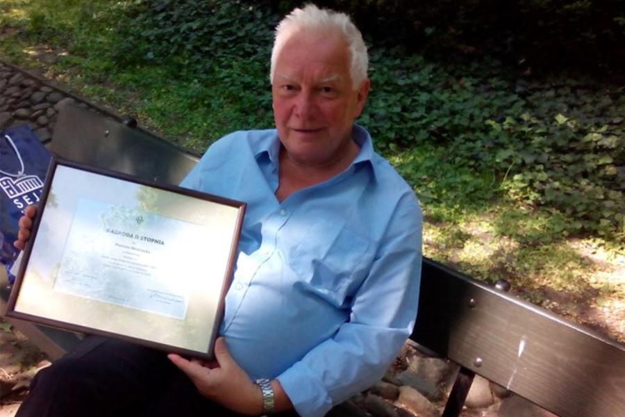 Prestiżowa nagroda naukowa dla drMariana Miszczuka