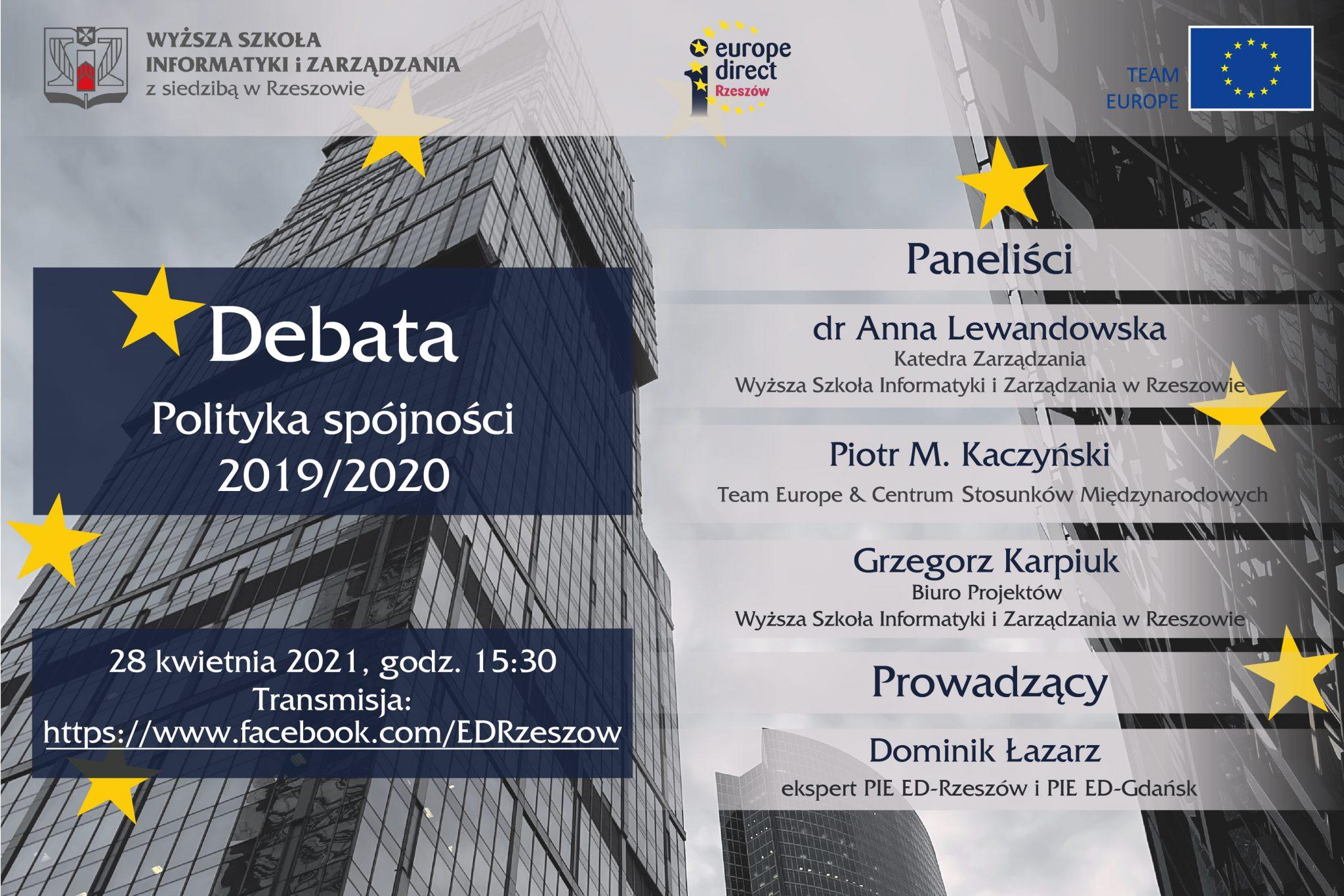 debata - Polityka spójności