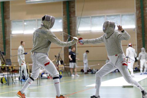 Szermierka reprezentacja trening Kielnarowa