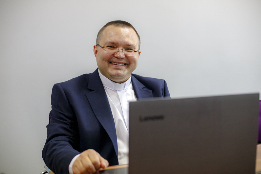 Ksiądz Tomasz Bierzyński doktorem wdziedzinie nauk społecznych