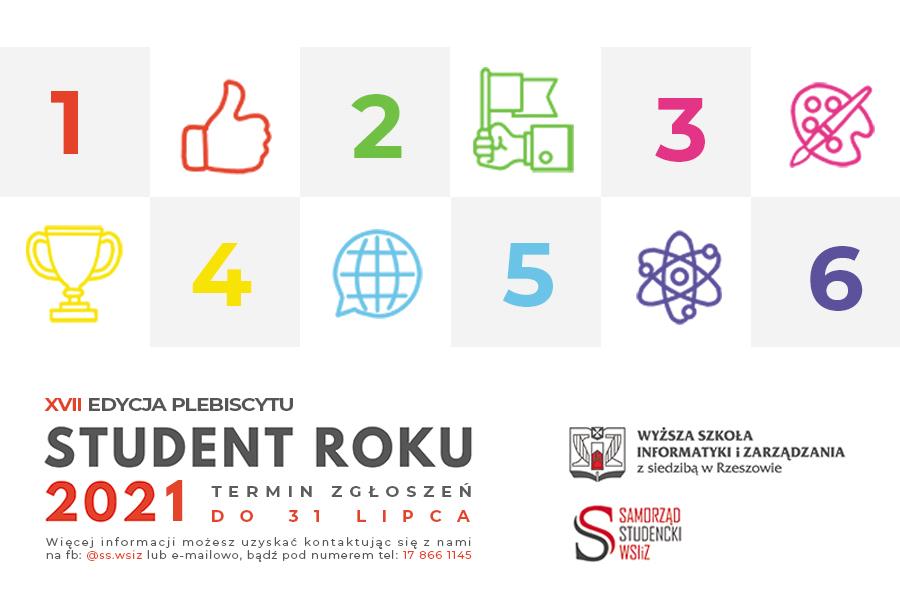Wybierz Studenta Roku – wystartowała XVII edycja plebiscytu!