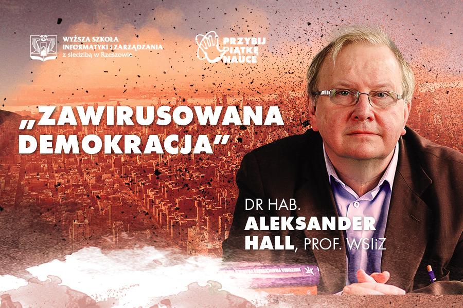 Zawirusowana demokracja plakat wykładu