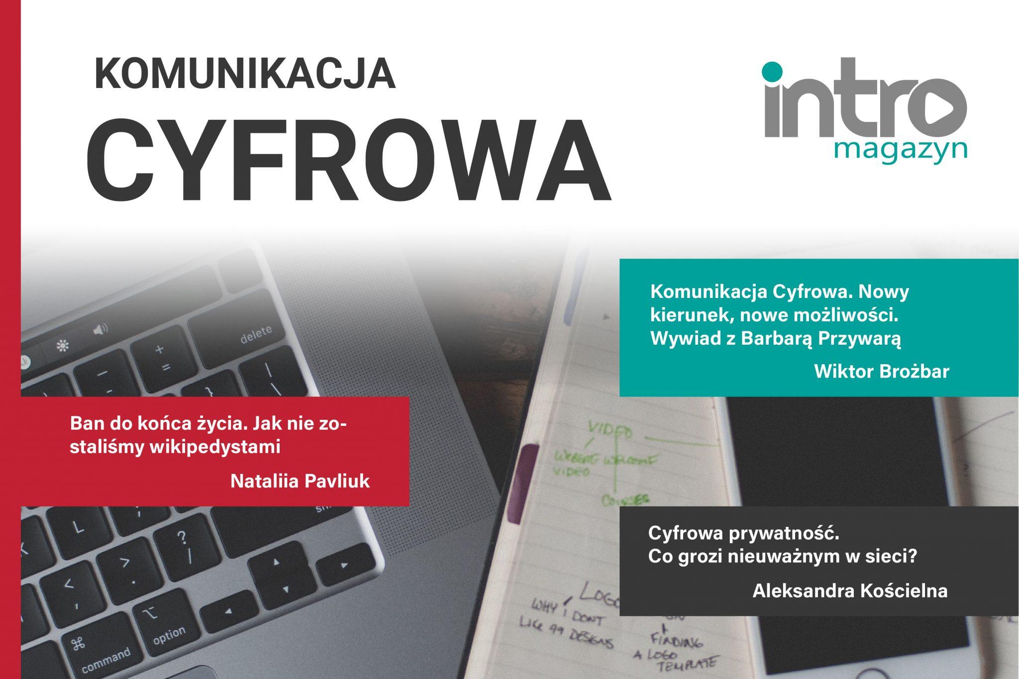 Nowy Intro Magazyn okomunikacji cyfrowej